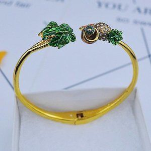 Kate Spade Zircon Pineapple Coconut Bracelet
